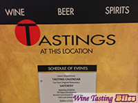 Supermarket Wine Tasting