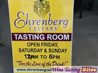 Discovering Ehrenberg Cellars
