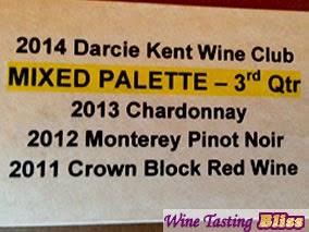 Tasting the Darcie Kent Club Pack