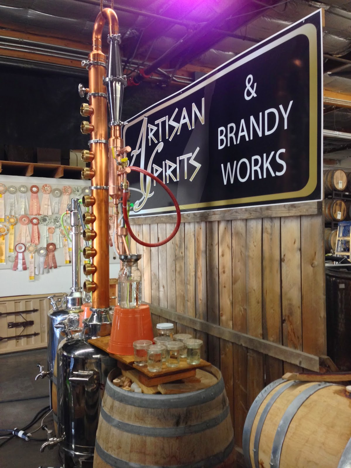 Eckert Estates Winery Expands to Spirits
