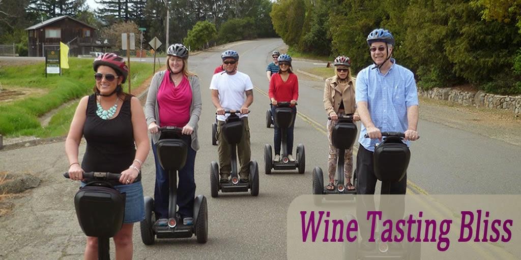 SegWine: Segway Wine Tasting