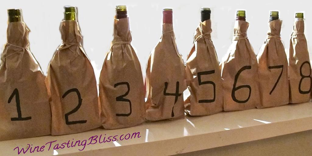 A New Twist on Blind Wine Tasting