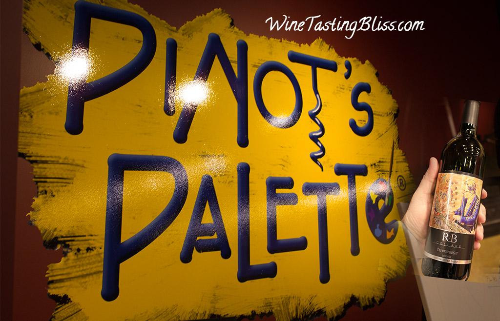 Pinot's Palette Meets R&B Cellars