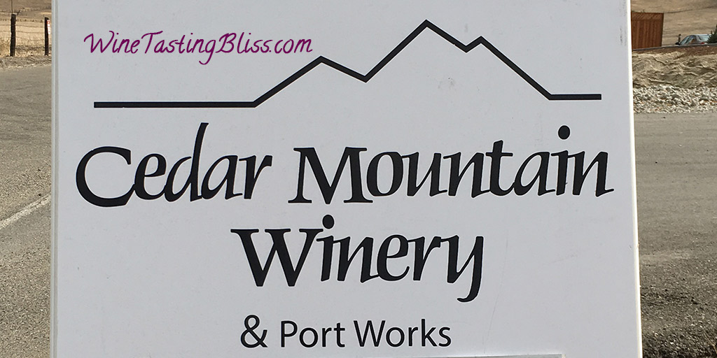 Cedar Mountain Winery