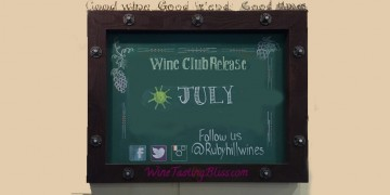 wine club party announcement