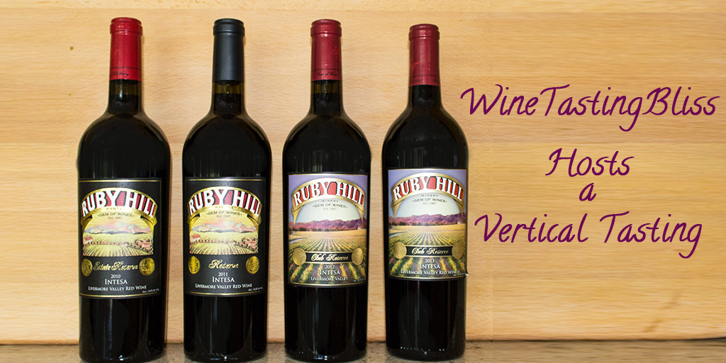 A Ruby Hill Vertical Tasting