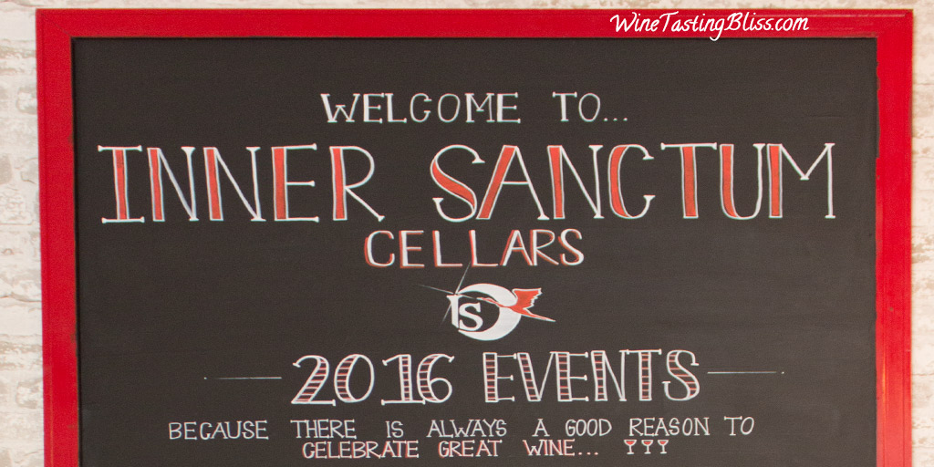 Returning to Inner Sanctum Cellars