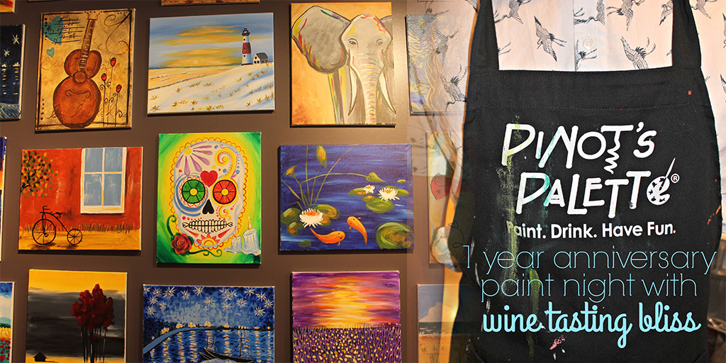 Pinot's Palette Alameda Turns One