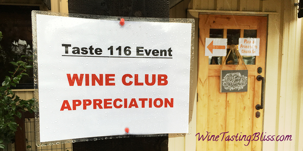 A Wine Club Appreciation Event
