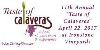 Upcoming: Taste of Calaveras