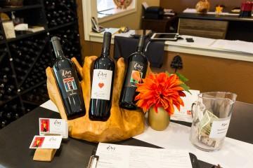 d'Art wine display