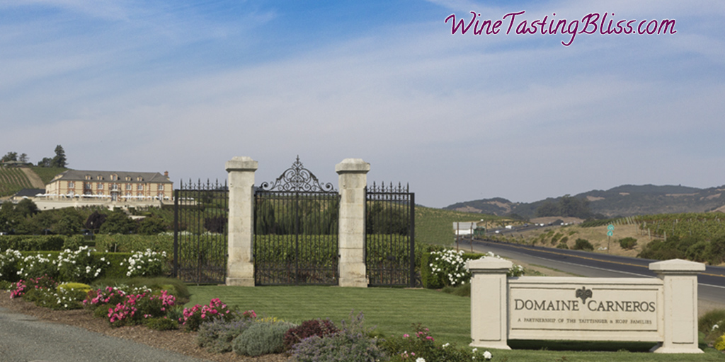 An Amazing Tasting at Domaine Carneros