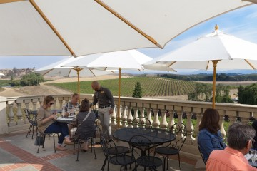 View from Domaine Carneros