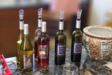 Pondl Winery bottles