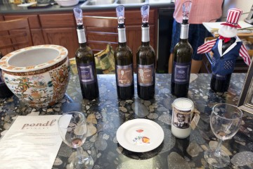 Pondl Winery pairing