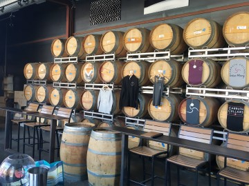 Carruths Cellars Carlsbad Barrels