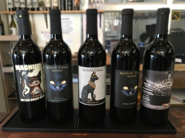 Witch Creek Carlsbad wines