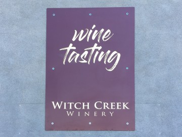 Witch Creek Carlsbad Sign
