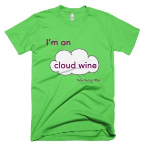 I'm on Cloud Wine Short-Sleeve T-Shirt