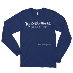 Joy to the World Long sleeve t-shirt (unisex)