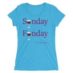 Sunday Funday Ladies' short sleeve t-shirt