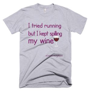 I tried running Short-Sleeve T-Shirt