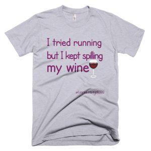 """I tried running"" Short-Sleeve T-Shirt"