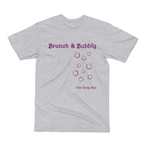 """""""Brunch and Bubbly"""" Men's Short Sleeve T-Shirt"""