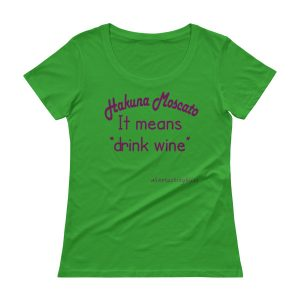 Hacuna Moscato Ladies' Scoopneck T-Shirt