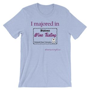 I majored in Wine Tasting Short-Sleeve Unisex T-Shirt