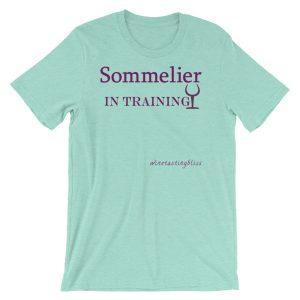 """""""Sommelier in training"""" Short-Sleeve Unisex T-Shirt"""