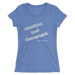 Sunshine and Champagne Ladies' short sleeve t-shirt