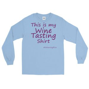 This is my Wine Tasting Shirt Long Sleeve T-Shirt