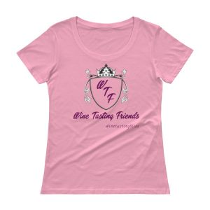 Wine tasting friends Ladies' Scoopneck T-Shirt