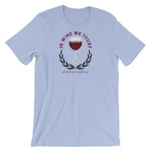 In wine we trust Short-Sleeve Unisex T-Shirt