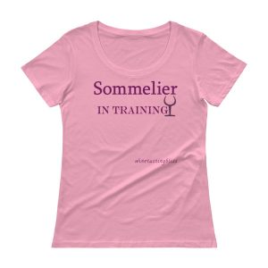 Sommelier in training Ladies' Scoopneck T-Shirt