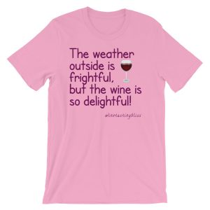 The weather outside is frightful Short-Sleeve Unisex T-Shirt