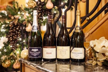 Christmas wine pairings champagnes