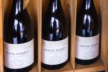 House Family Vineyards three pinots