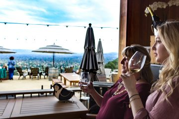 House Family Vineyards sipping