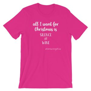 """All I want for Christmas"" Short-Sleeve Unisex T-Shirt"