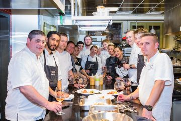 Pigs and Pinot chefs