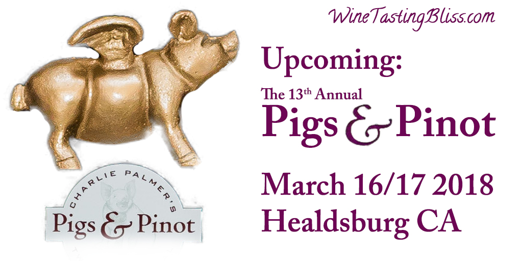 Upcoming: Pigs and Pinot