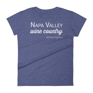 Napa Valley Wine Country Women's short sleeve t-shirt