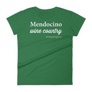 Mendocino Wine Country Women's short sleeve t-shirt