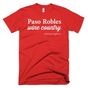 Paso Robles Wine Country Short-Sleeve T-Shirt
