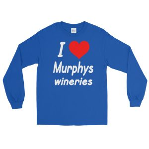 I HEART Murphys Wineries Long Sleeve T-Shirt