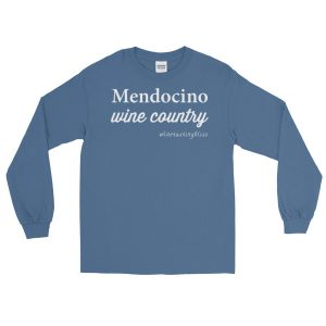 Mendocino Wine Country Long Sleeve T-Shirt