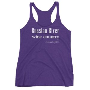 Russian River Wine Country Women's Racerback Tank