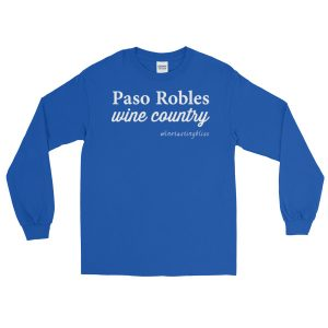 Paso Robles Wine Country Long Sleeve T-Shirt